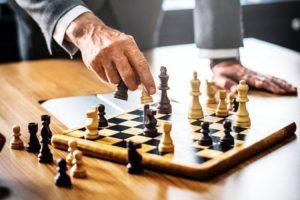déplacement des pièces d'échecs